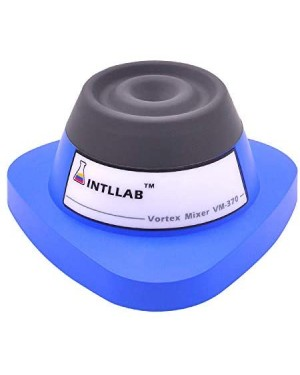 Intllab Mini Vortex Mixer Shaker for Lab/Nail Polish/Tattoo Ink/Gel Polish/ Eyelash Adhesives