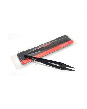 Coil Master ceramic tweezers tip black