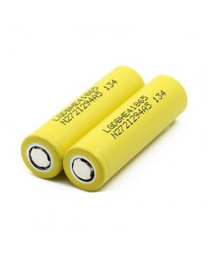 LG HE4 18650 2500mAh  20A rechargeable battery