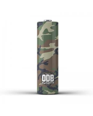 ODB Wraps-Camo-18650(4pcs)