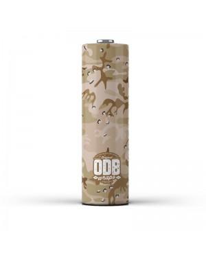 ODB Wraps-Desert Camo -18650 (4pcs)