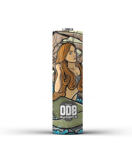 ODB Wraps-Mermaid ODB-18650(4pcs)