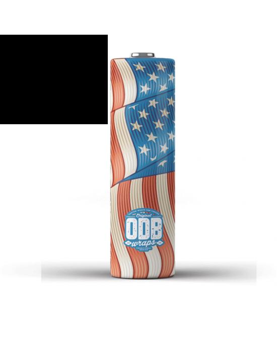 ODB Wraps-Murica -18650 (4pcs)
