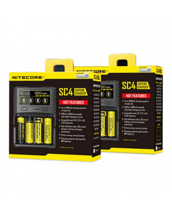 Nitecore SC4 with AU PLUG