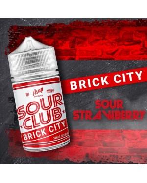 Asap Sour Club – Brick City Sour Strawberry – 60ml