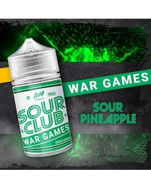 Asap Sour Club – War Games Sour Pineapple – 60ml