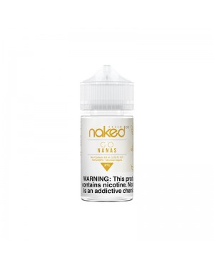 Naked 100 E-Liquid - GO NANAS 60ml