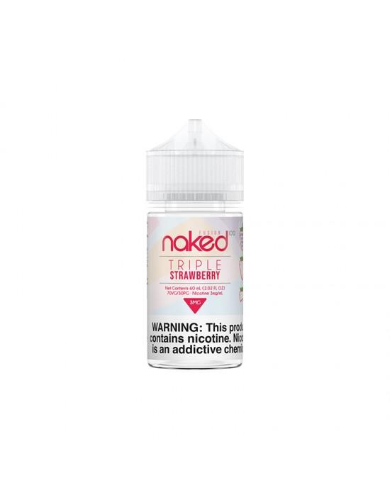 Naked 100 E-Liquid -Triple Strawberry 60ml