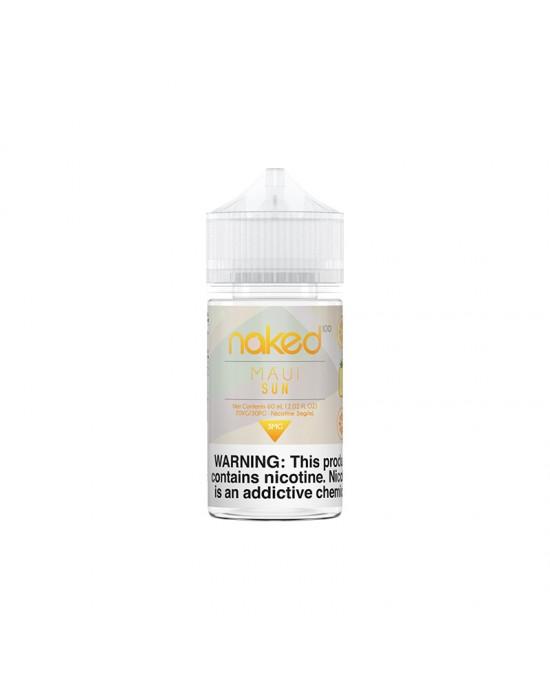 Naked 100 E-Liquid - MAUI SUN 60ml