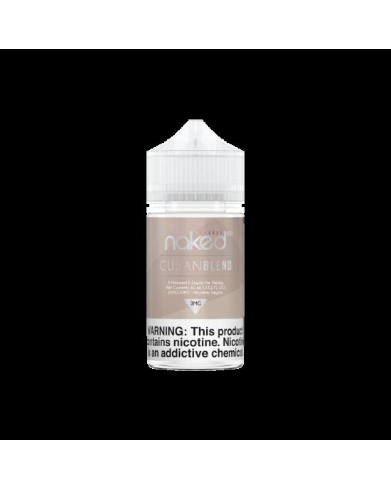 Naked 100 Cream E-Liquid -Cuban Blend