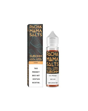 Charlie's Chalk Dust - Pachamama SUBOHM- ICY MANGO 60ml 0mg