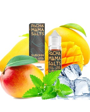 Charlie's Chalk Dust - Pachamama SUBOHM- ICY MANGO 60ml 0mg【Expired in June】