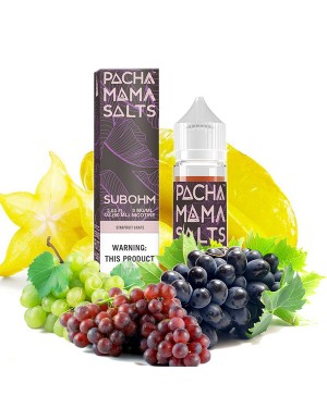 Charlie's Chalk Dust - Pachamama SUBOHM- Starfruit Grape 60ml 0mg
