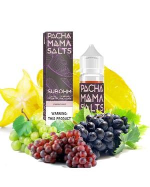 Charlie's Chalk Dust - Pachamama SUBOHM- Starfruit Grape 60ml 0mg【Expired in June】