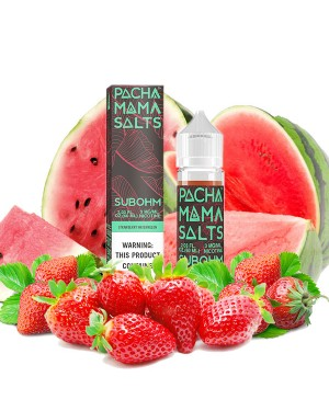 Charlie's Chalk Dust - PM SUBOHM- Strawberry Watermelon  60ml 0mg