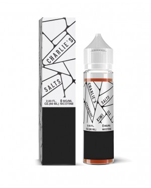 Charlie's chalk dust-White Salts-STRAWBERRY KIWI ICE 60ml 0mg