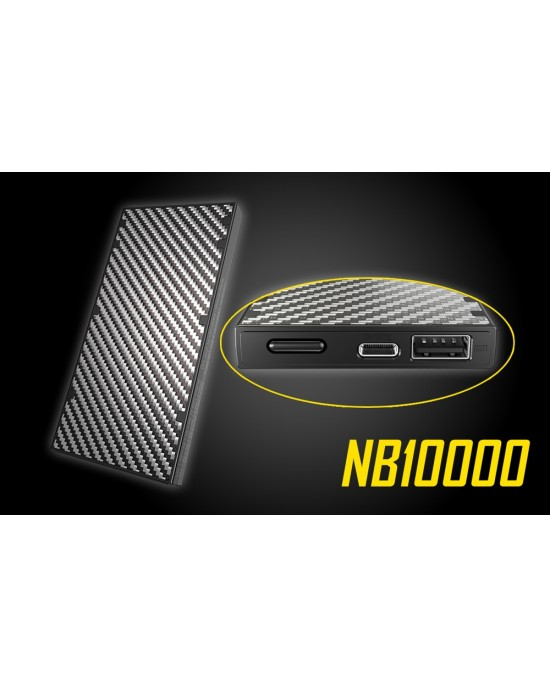 NITECORE NB10000 10000mAh Lightweight Power Bank