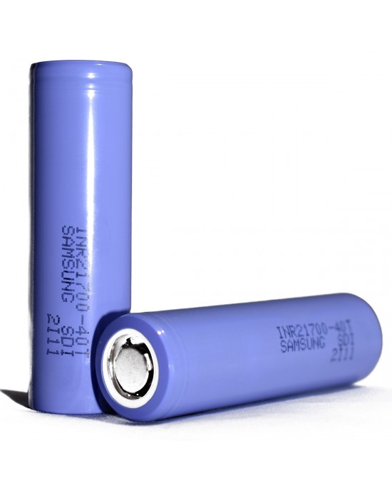Samsung 40T 21700 4000mAh 30A Rechargeable  Battery