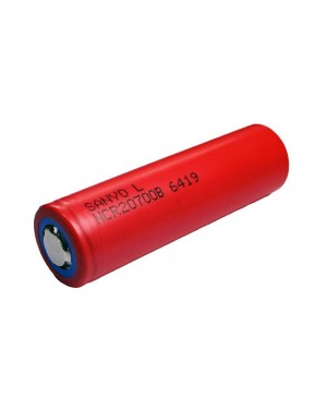 Sanyo 20700B 4250mAh 15A  Flat Top 20700 rechargeable battery