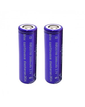 VapCell 20700 3000mAh 30A rechargeable battery (Grade A 5-leg)