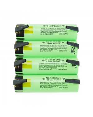 Panasonic 18650B 3400mAh 4.9A Tabbed