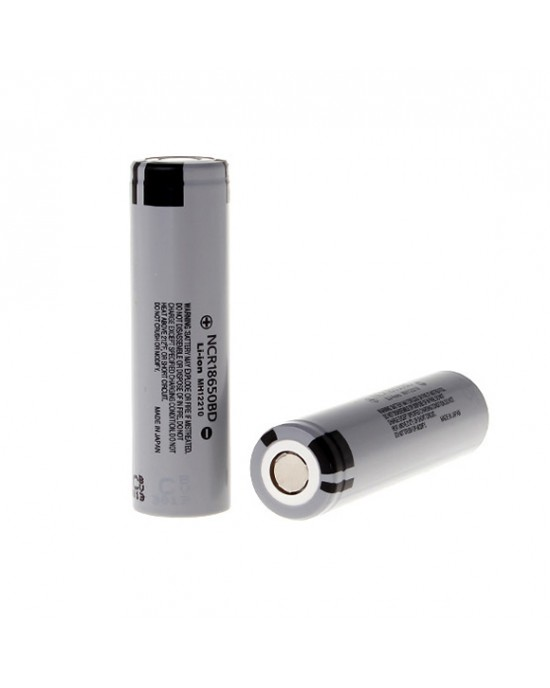 Panasonic NCR18650BD 3200mAh 10A Flat Top rechargeable battery