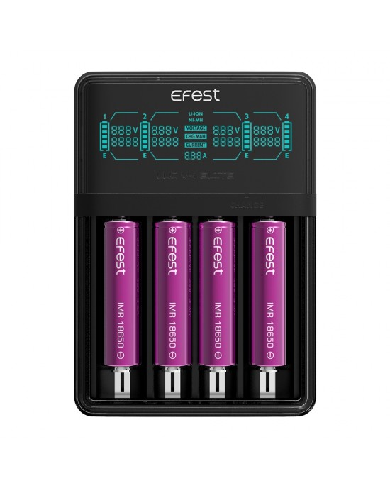 Efest LUC V4 (ELITE) HD LCD Charger