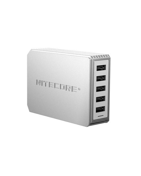 Nitecore UA55 5-Port USB Desktop Adapter