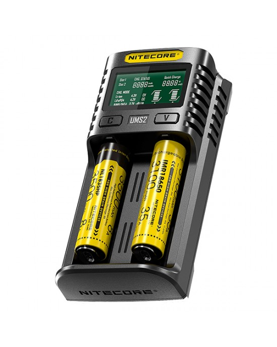 Nitecore UMS2 3A USB Charger
