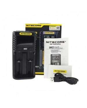 Nitecore UMS2 3A USB Charger
