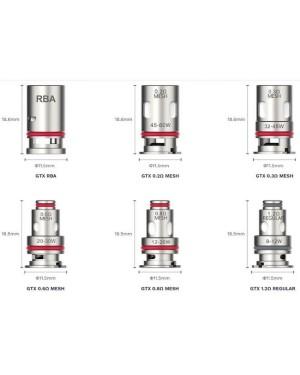Vaporesso TARGET PM80 GTX Mesh Coil 5pcs/pack