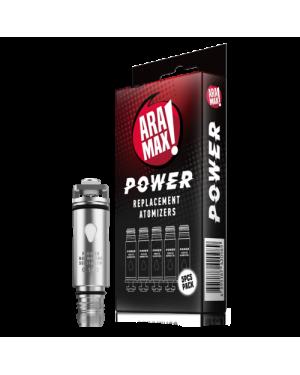 ARAMAX POWER Replacement Atomiser 5pcs/pack
