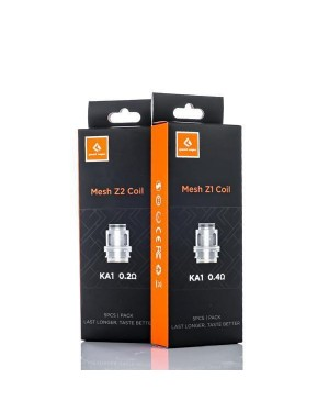 GeekVape Zeus sub tank replacement Mesh coil 5Pcs/Pack