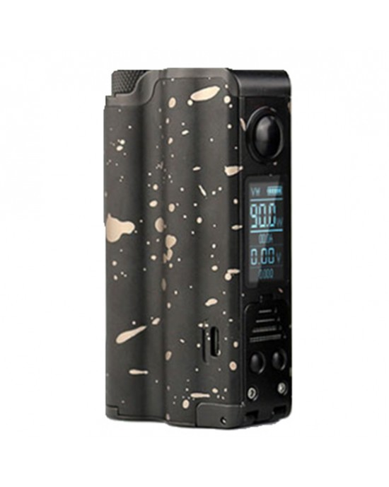 DOVPO topside 21700 90W Squonk Special Edition Box Mod (single battery with extra bottle)