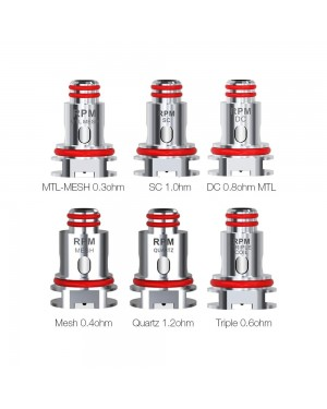 SMOK RPM 40 Replacement Coil 5pcs/pack