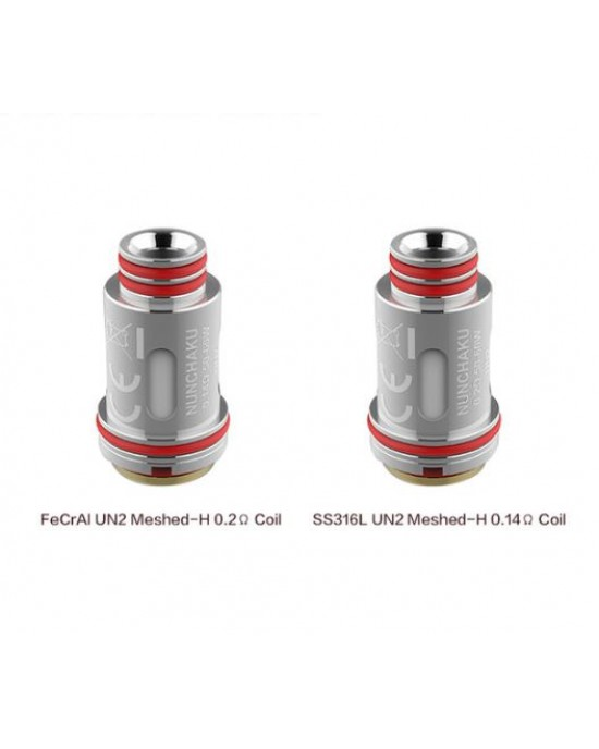 Uwell Nunchaku 2 Coil FDA Package UN2, Meshed 4PCS/Pack