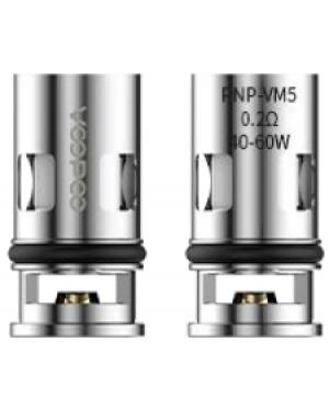 VOOPOO PnP-VM5 Coil FDA Package 0.2ohm 5PCS/Pack