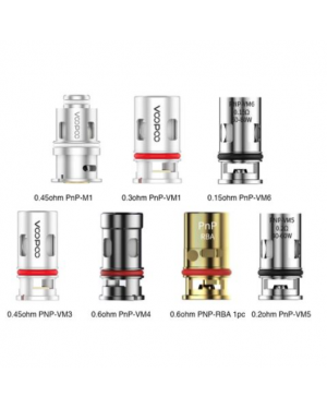 VOOPOO PnP Mesh Coil for VINCI Kit 5pcs Standard Edition