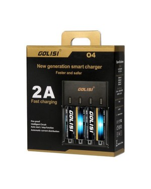 Golisi O4 4 bay charger with AU Plug