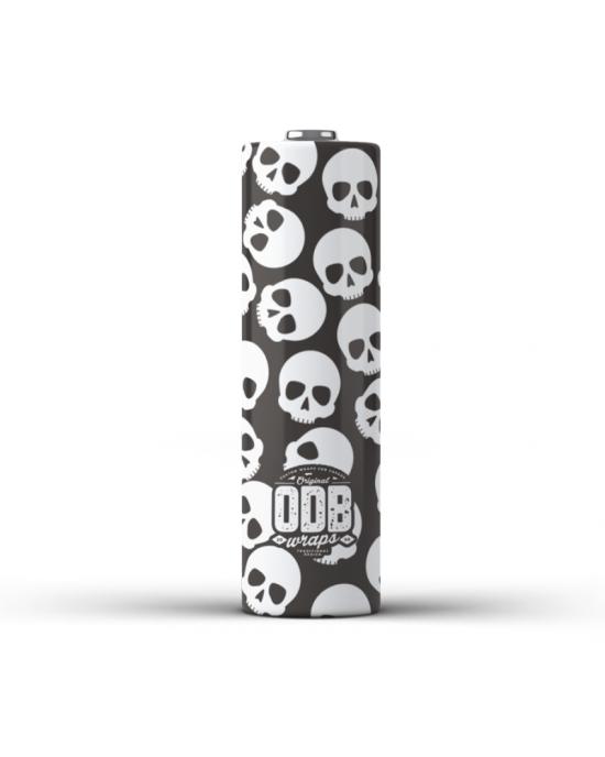 ODB Wraps-Skullz 18650(4pcs)