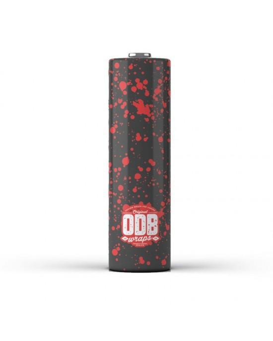 ODB Wraps-Splatter -18650 (4pcs)