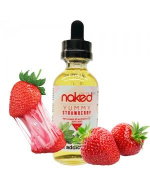 Naked 100 Fusion E-Liquid Yummy  Strawberry